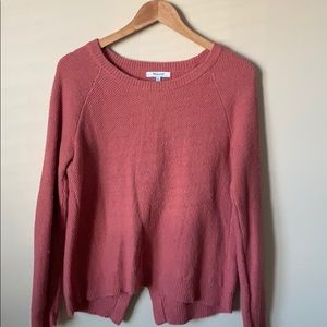 Madewell Pink Sweater